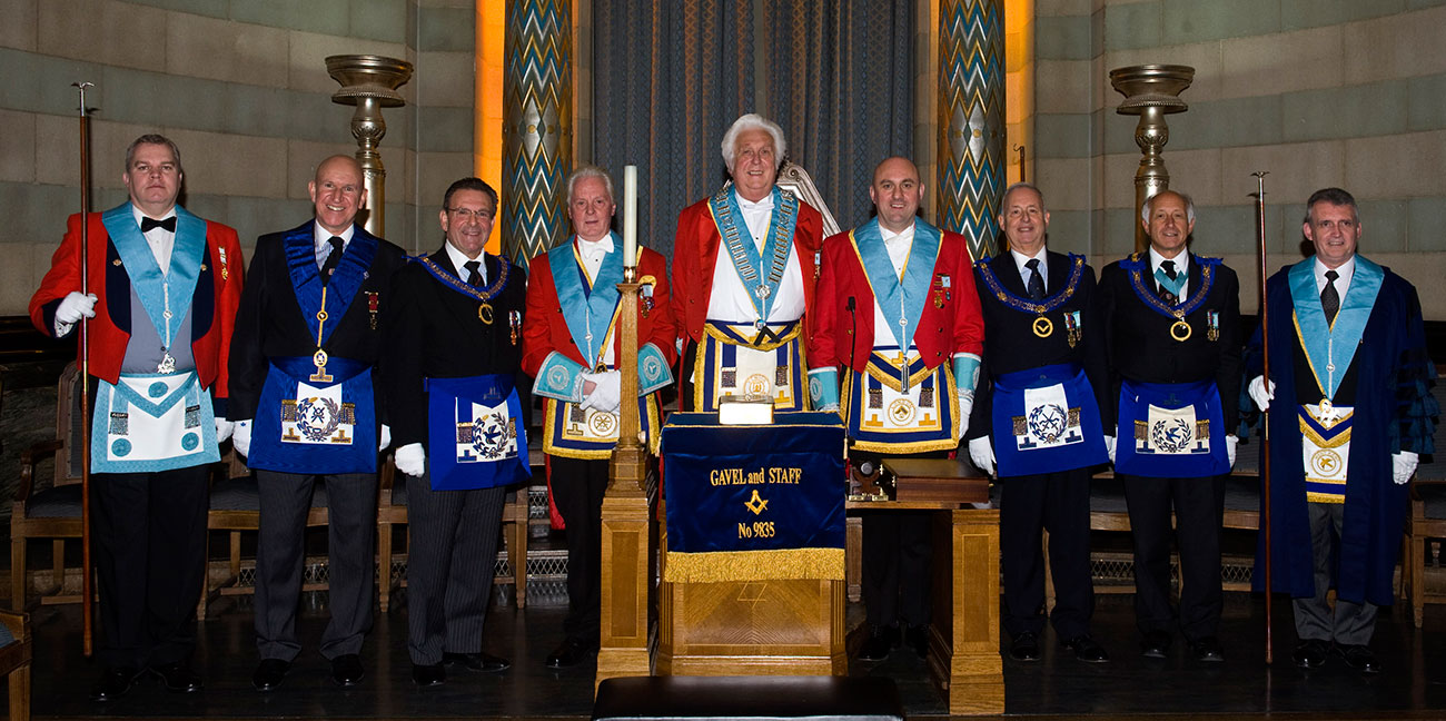 Gavel and Staff Masonic Lodge No 9835. Official Website.